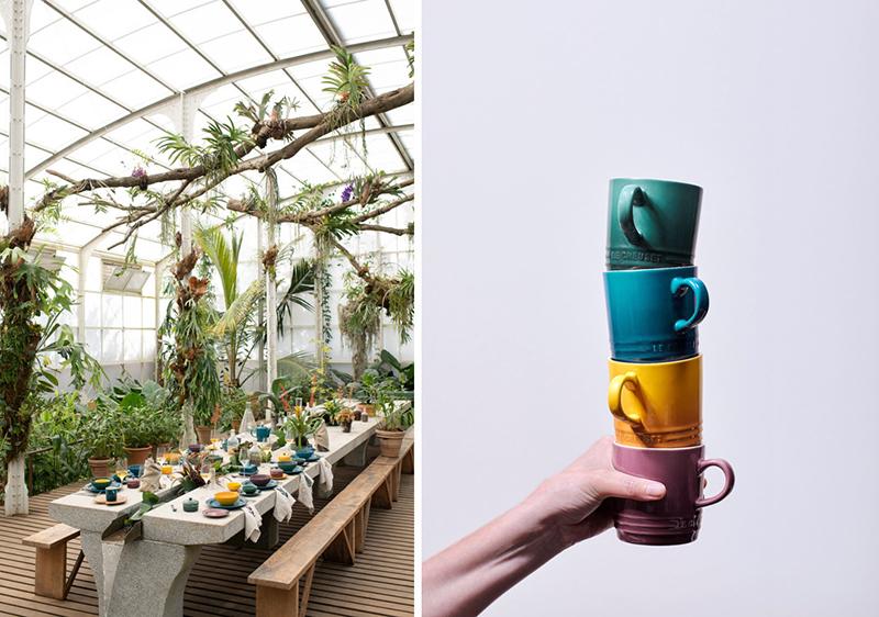 Le Creuset Nouvelle Collection Botanique Édition Limitée Ambiance 3