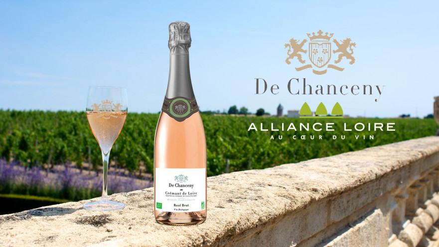 Crémant de Loire De Chanceny Bio Brut Rosé