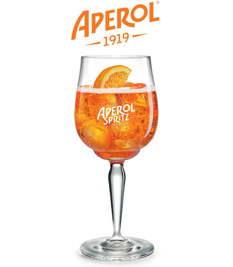 Verre Aperol Spritz