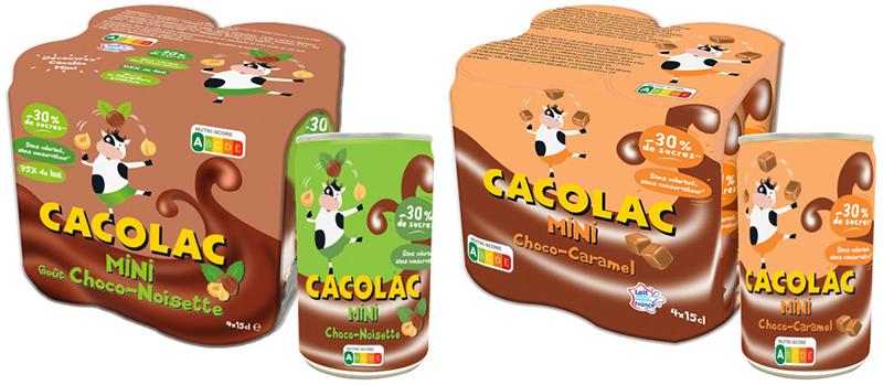 Packs Cacolac Mini Choco–Noisette–Caramel