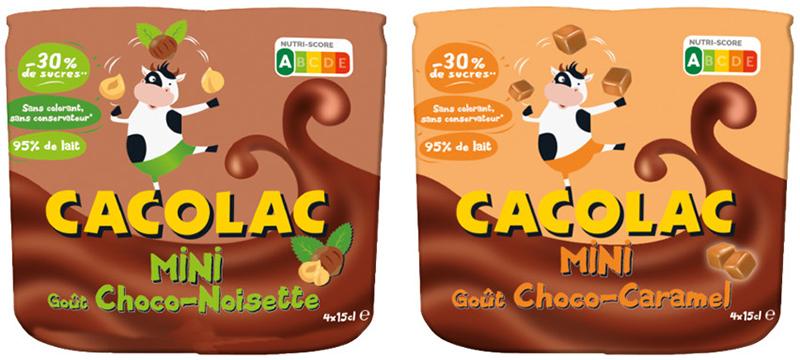 Cacolac Mini Choco–Noisette–Caramel