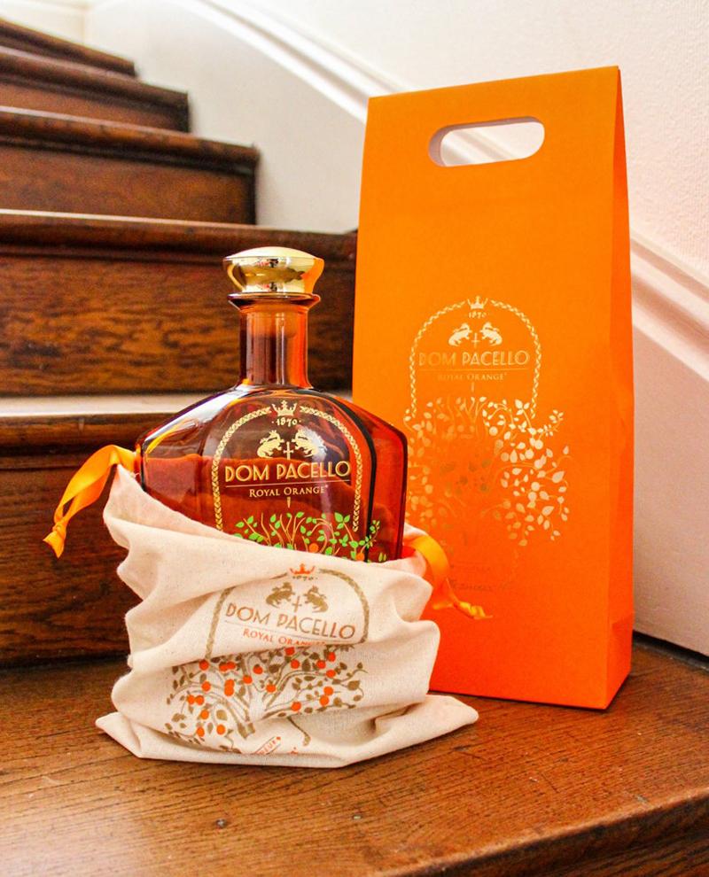 Coffret Dom Pacello Royal Orange