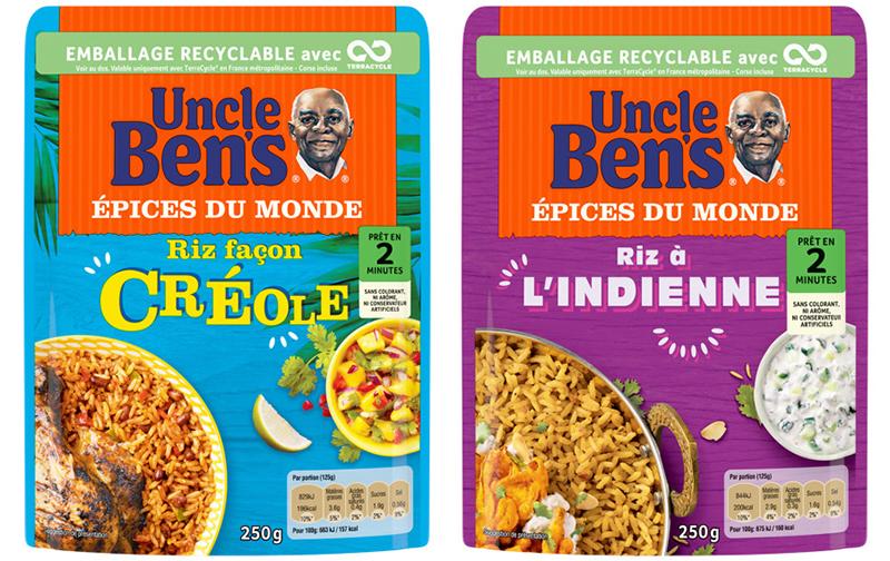 Épices du monde d'Uncle Ben's® Gamme