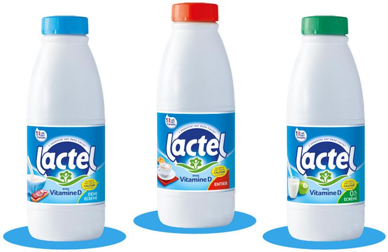 Laits vitamine D Lactel 1L