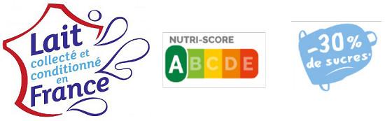 CACOLAC Nutriscore A