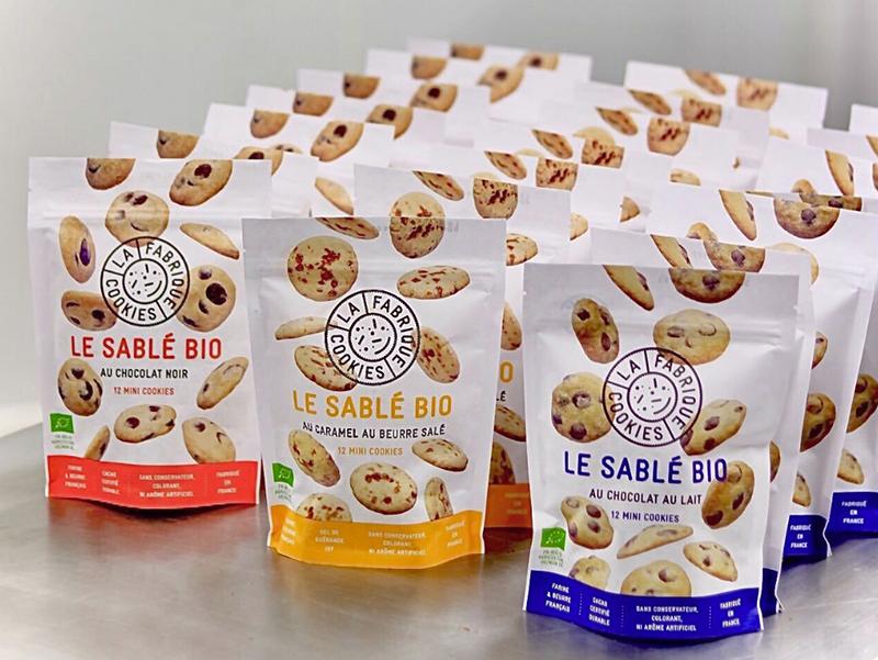 Les sablés Bio de La Fabrique Cookies