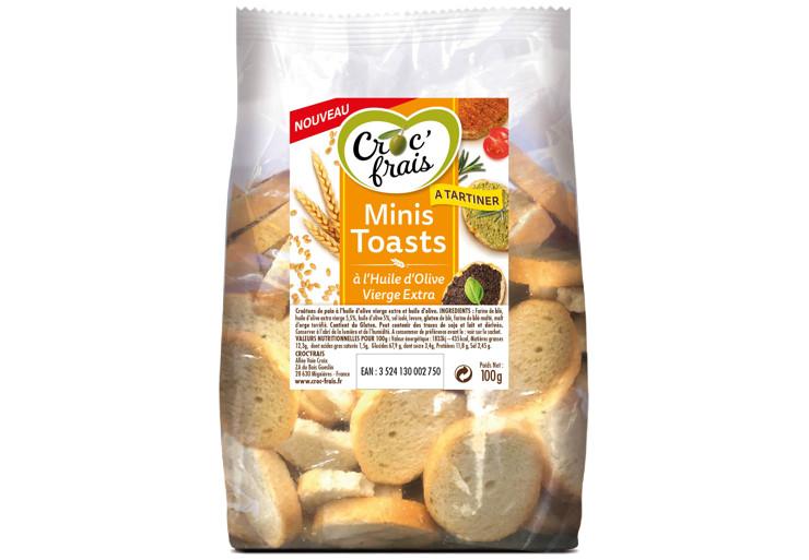 Minis Toasts Croc'Frais