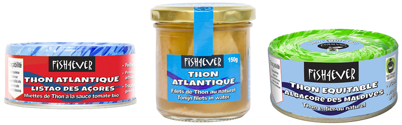 FISH4EVER Nouveautés Thon