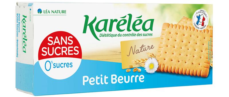 Petit beurre sans sucres 150g Karéléa