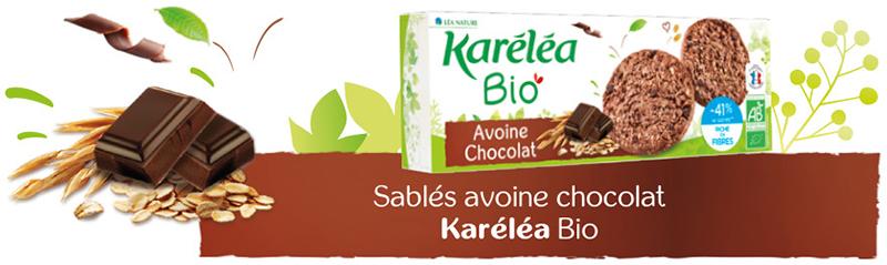Sablés avoine chocolat
