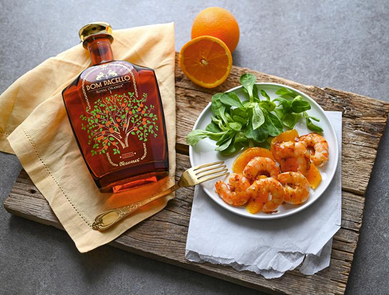 Salade de crevettes Dom Pacello Royal Orange®