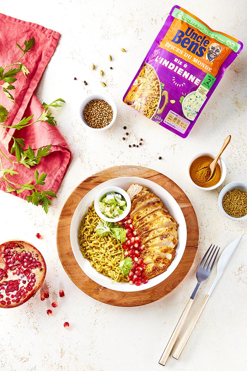 Indian bowl poulet tandoori