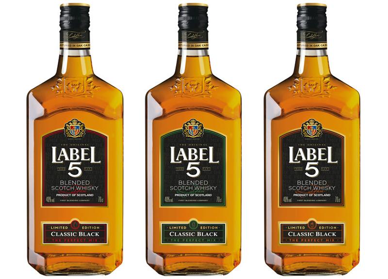 Édition Limitée du Classic Black - LABEL 5