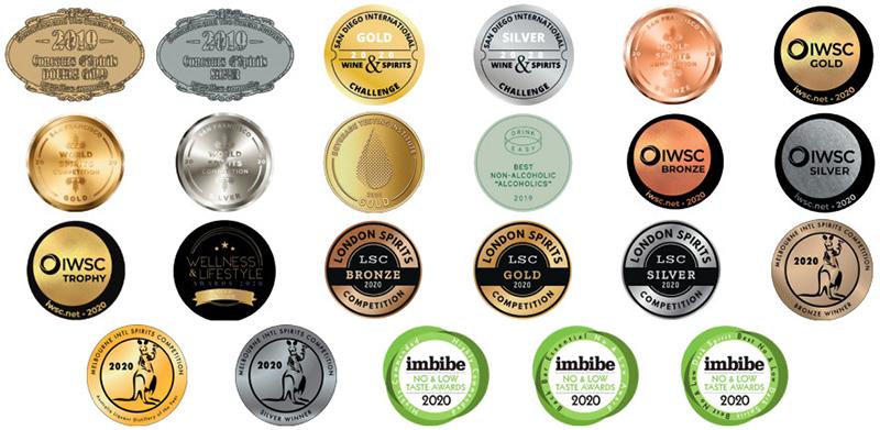 13 Médailles LYRE'S