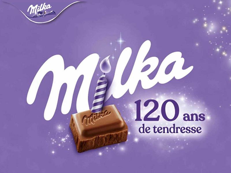 120ans de tendresse Milka