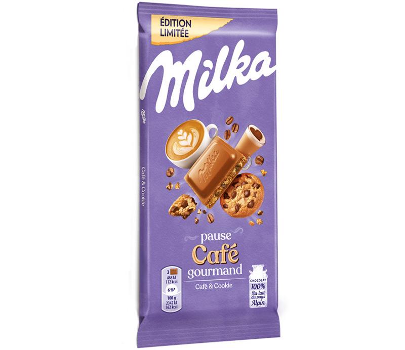 Pause café gourmand Milka
