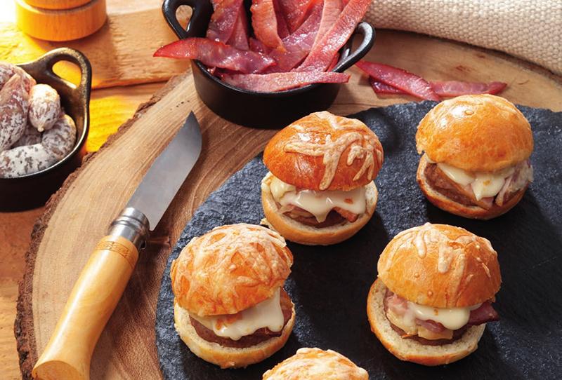 PASO Traiteur Mini Burgers Reblochon