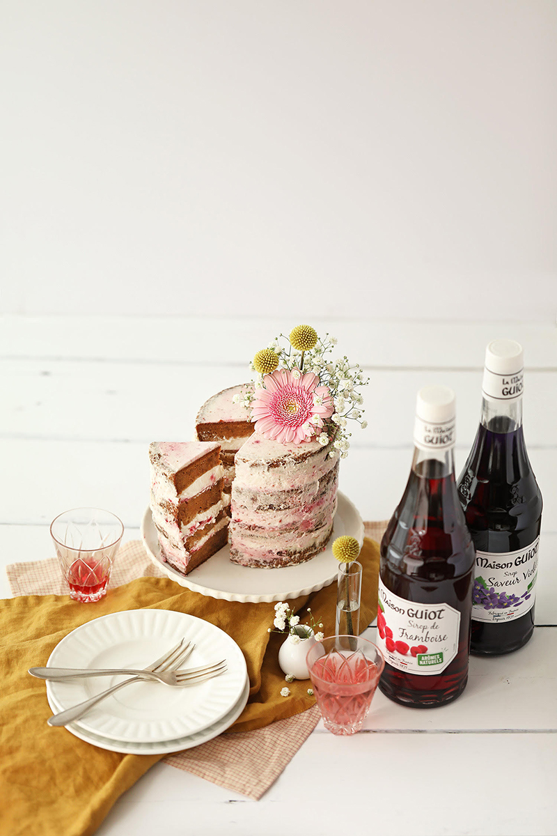 Naked Cake au sirop