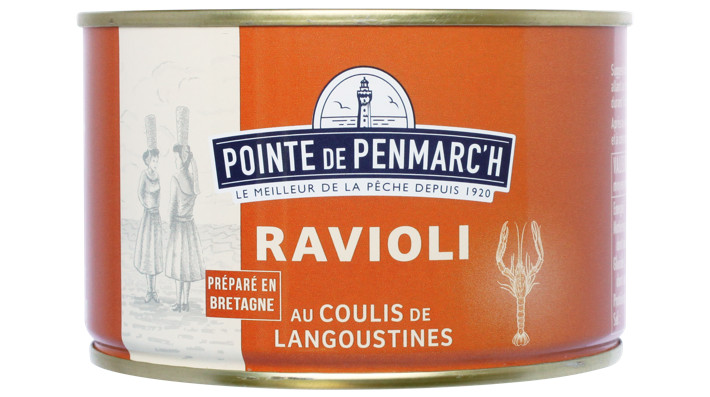Pointe de Penmarc'h Ravioli au coulis de langoustines