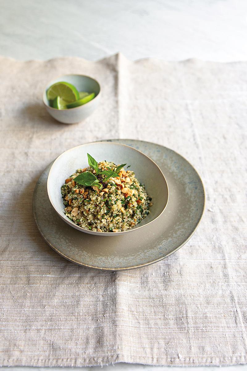 Salade de quinoa saveurs thaïes