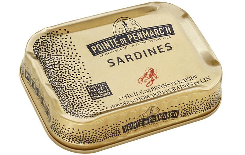 Pointe de Penmarc'h Sardines à l'huile de pépins de raisin