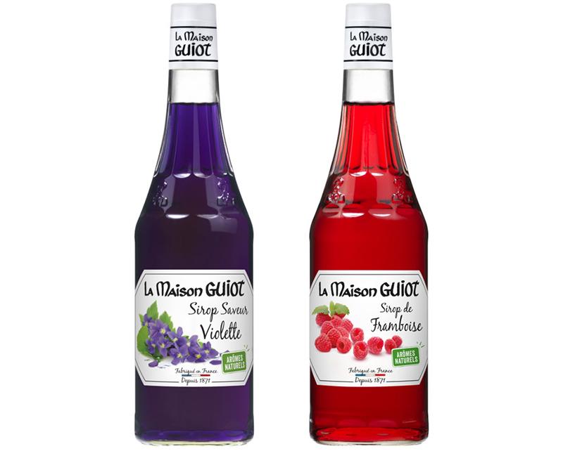 La Maison Guiot Sirop de Violette Framboise