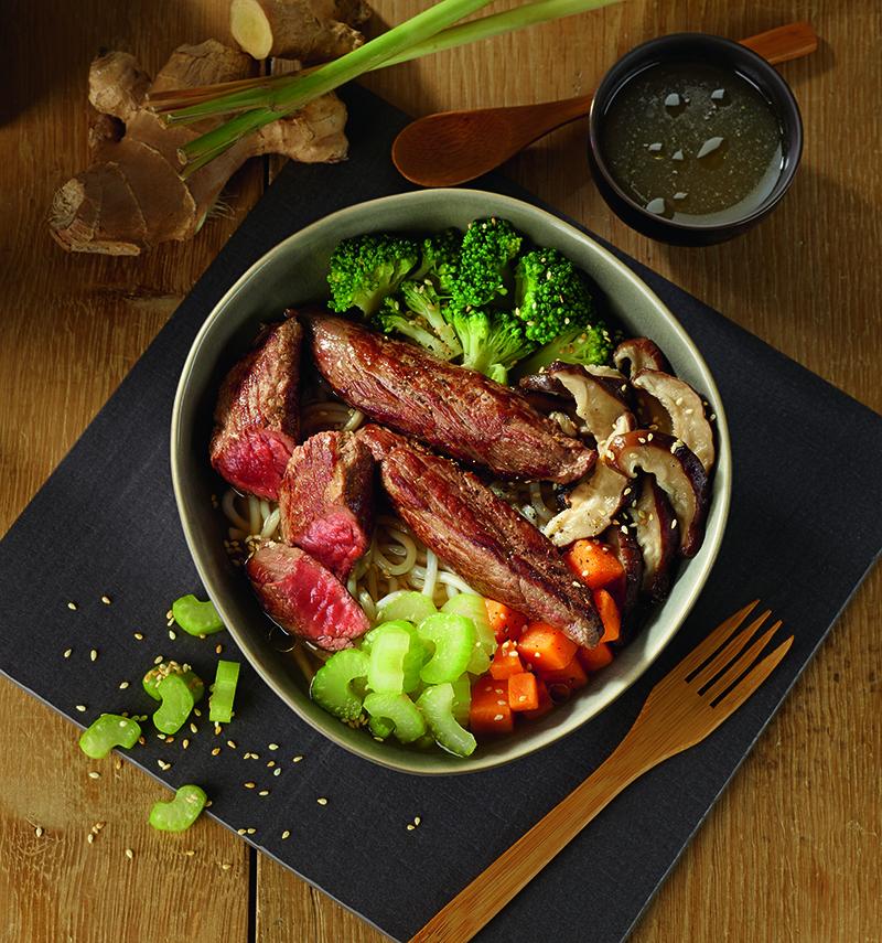 Aiguillettes de bœuf Japan Poke