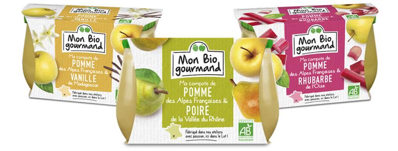 Compotes Mon Bio Gourmand