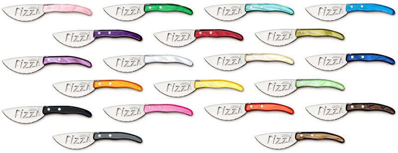 Couteau à Pizza Berlingot coloris