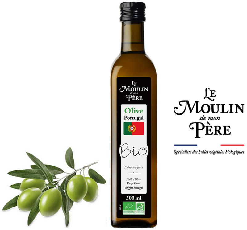 Le Moulin de Mon Père Huile d'olive Portugal Bio