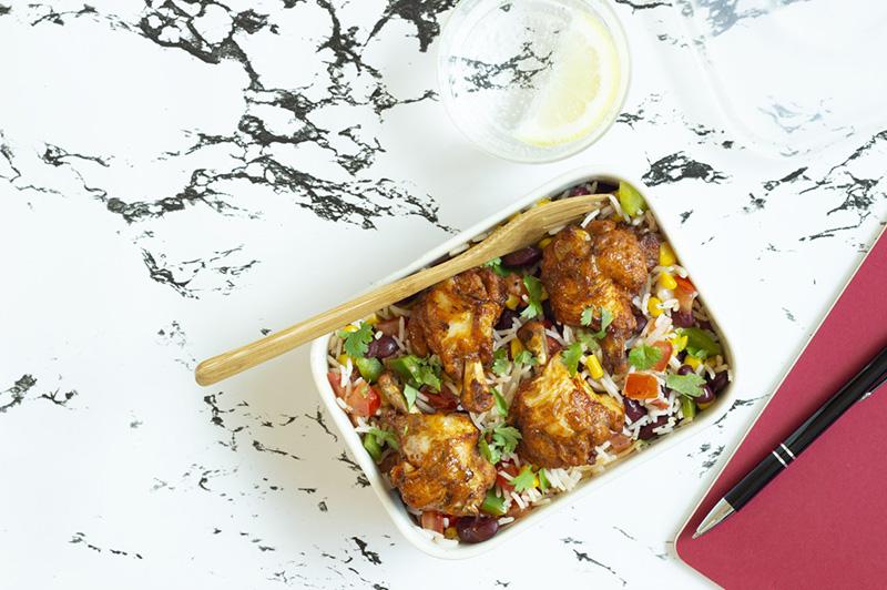 Lunch Box CoQ'Ailes riz à la mexicaine