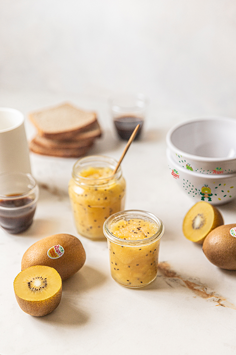 Marmelade légère de kiwi
