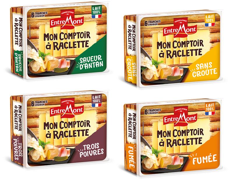 Gamme Mon Comptoir à Raclette Entremont