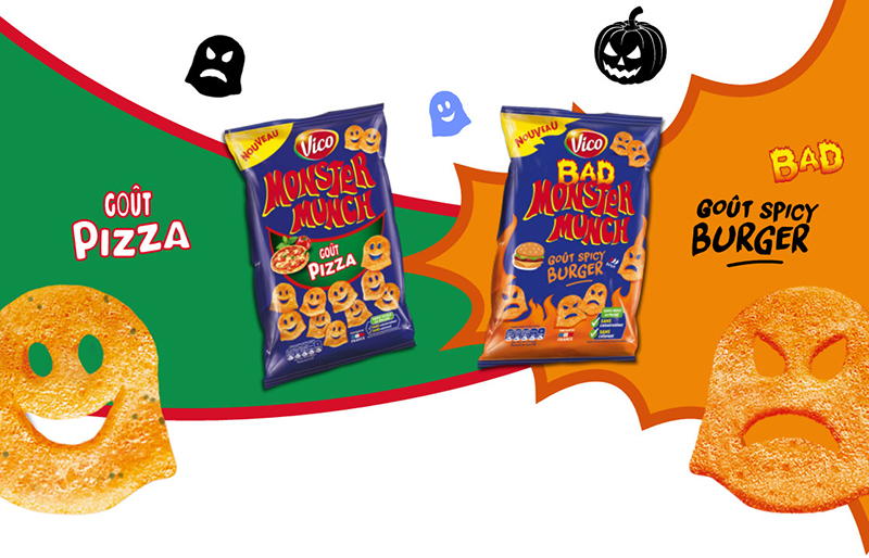 Bad Monster Munch Pizza - Spicy Burger