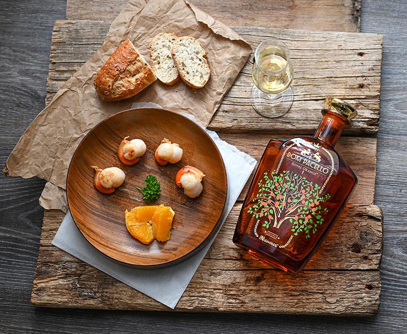 Noix de Saint-Jacques Dom Pacello Royal Orange®