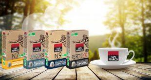 """San Marco signe """"4 nouvelles créations"""" Bio dans sa gamme de Capsules compostables"""