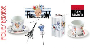 "Les tasses San Marco relookées aux couleurs du ""Fashion Freak Show"" de Jean-Paul Gaultier !"