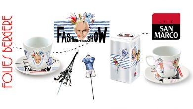 """Photo de Les tasses San Marco relookées aux couleurs du """"Fashion Freak Show"""" de Jean-Paul Gaultier !"""