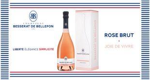 "BB ""Rose Brut"" le Champagne des amoureux"