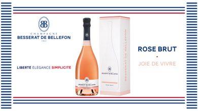 """Photo de BB """"Rose Brut"""" le Champagne des amoureux"""