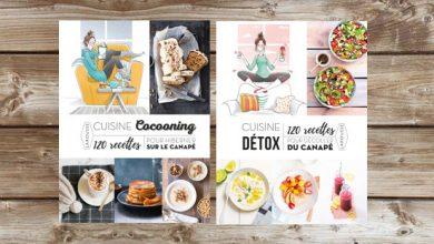 """Photo de Cuisine """"Cocooning"""" et Cuisine """"Détox"""" aux Éditions Larousse"""