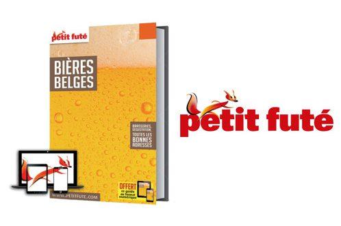 """Nouvelle Édition 2018-2019 pour le """"Guide des Bières Belges"""" du Petit Futé"""