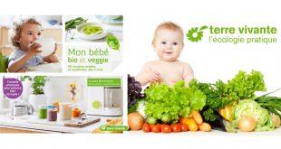 """""""Mon bébé bio et veggie"""" par Louise Browaeys aux Éditions Terre vivante"""