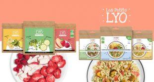 """Les Petits Lyo : enfin des """"Repas et des Snacks"""" gourmands, sains, légers et bons !"""