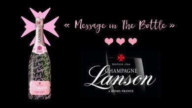 """Photo de Lanson célèbre la Saint-Valentin avec """"Message in The Bottle"""""""