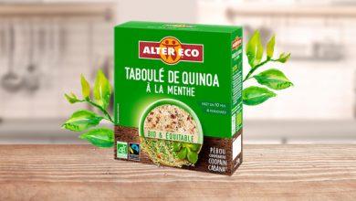 """Photo de Le """"Taboulé de Quinoa"""" à la Menthe Alter Eco®"""