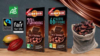 """Photo de Alter Eco® lance 2 nouvelles tablettes de chocolat """"66% Côte d'Ivoire et 70% Honduras"""""""