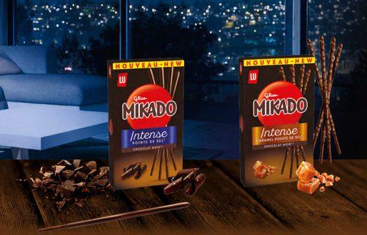 """La marque LU lance """"Mikado Intense"""", un Mikado qui va vous faire fondre de plaisir !"""