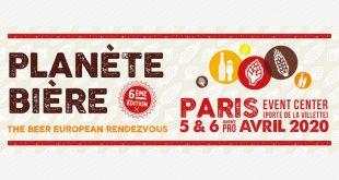 """6ème Édition du salon """"Planète Bière"""" au Paris Event Center les 5 et 6 avril 2020"""
