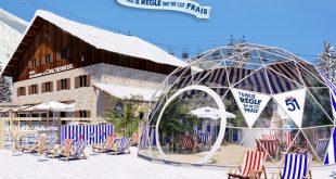 """""""Le Pastis'Odrome 51"""" L'esprit Marseillaise s'installe sur les pistes de ski !"""